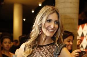 Fernanda Lima ganha prêmio e dedica a Rodrigo Hilbert: 'Ficou com as crianças'