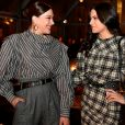 Claudia Raia e a filha, Sophia, mostraram sintonia fashion com looks idênticos
