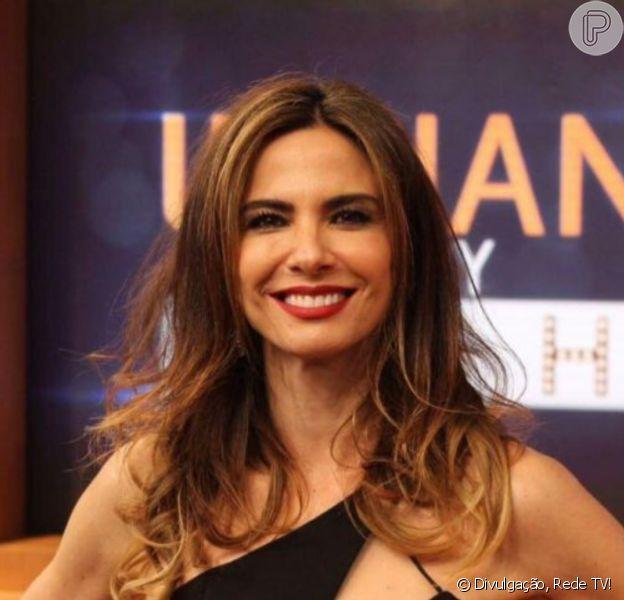 Luciana Gimenez pode deixar a RedeTV! por conta do salário de R$ 200 mil, diz o colunista Fernando Oliviera, do Uol
