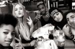 Jaden, filho de Will Smith, está namorando Kylie, meia-irmã de Kim Kardashian