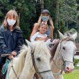 Ticiane Pinheiro rebateu crítica por filha Manuella não usar máscara: 'Não tem 2 anos'