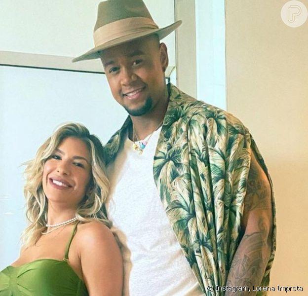 Gravidez de Lorena Improta e Léo Santana foi comemorada por famosos