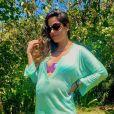 Filha de Camilla Camargo,Júlia nasceu de parto normal, às 14:55h pesando 3,360kg e 49cm