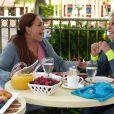 Ana Maria Braga toma café com Susana Vieira direto da Disney