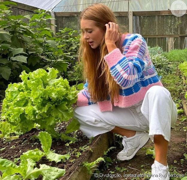 Marina Ruy Barbosa está morando por uma temporada na fazenda do novo namorado