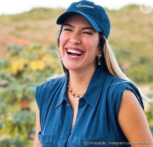 Lorena Improta se divertiu ao relatar um 'efeito colateral' da gravidez