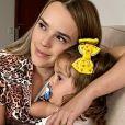 Thaeme Mariôto relatou que filha, Liz, 2 anos, está acordando muito à noite