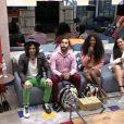 Semifinalistas, Fiuk, Gilberto, Camilla e Juliette assistiram suas trajetórias no 'BBB21'