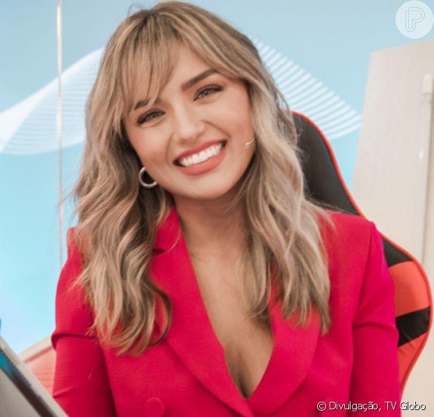 Rafa Kalimann estreia como apresentadora de talk-show na Globo