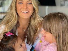 Cesar Tralli se encanta com foto de Ticiane Pinheiro e as filhas: 'Muito amor envolvido'