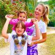 Filha de Ticiane Pinheiro, Rafaella tem sintonia com a irmã Manuella