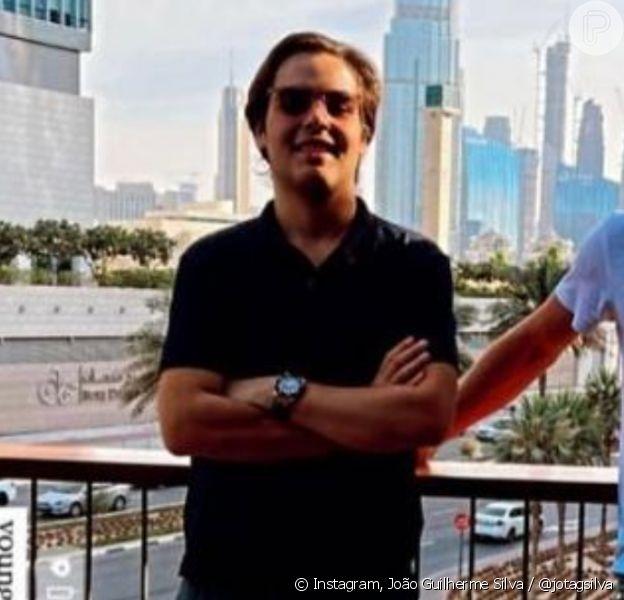 Filho de Faustão, João Guilherme Silva surpreende com corpo mais magro um ano após cirurgia bariátrica