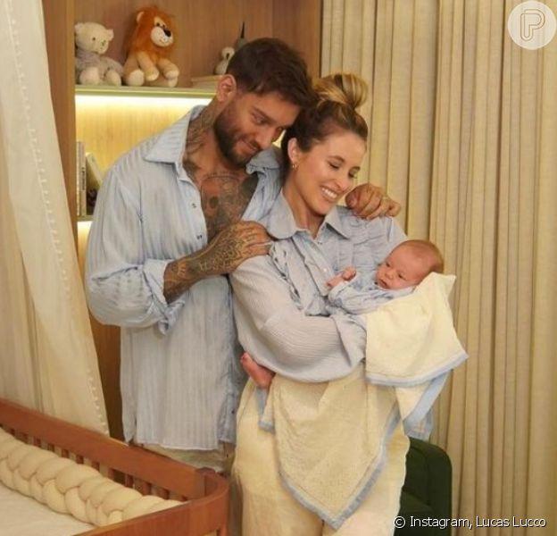 Lucas Lucco e Lorena Carvalho mostram quarto do primeiro filho, Luca. Fotos!