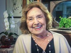 Eva Wilma é diagnosticada com câncer no ovário e inicia tratamento oncológico