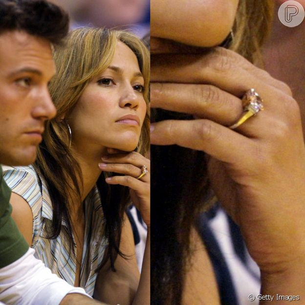 Aliança de J-Lo, dada por Ben Affleck, custava quase 10 milhões de reais