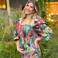Lorena Improta contou que o bebê mexeu pela primeira vez