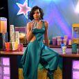 No MTV Movie & TV Awards, Jurnee Smollett foi de cabelo solto com textura