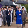 Princesa Diana havia usado uma produção monocromática azul na mesma cidade, há 29 anos