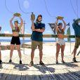 Gleici Damasceno e Kaysar foram colegas de equipe em 'No Limite'