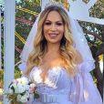 Solange Almeida e Monilton Moura se casaram em novembro de 2020