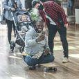 Marcos Veras e família são parados em shopping por fãs