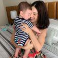 Sthefany Brito inicia tratamento para emagrecer após gravidez de Antonio Enrico