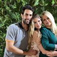 Monique Evans fala sobre tratamento de Bárbara Evans e Gustavo Theodoro para engravidar: 'Vou ficar louca quando tiver meus netos'