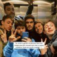 Bruno Magri, ex-namorado de Viih Tube, postou uma foto entre amigos e garantiu: 'Vai ficar tudo bem'