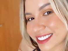 Marília Mendonça exibe corpo magro em look de treino e rebate crítica de internauta