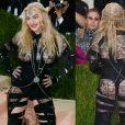 A cantora Madonna é dona de looks cheios de personalidade