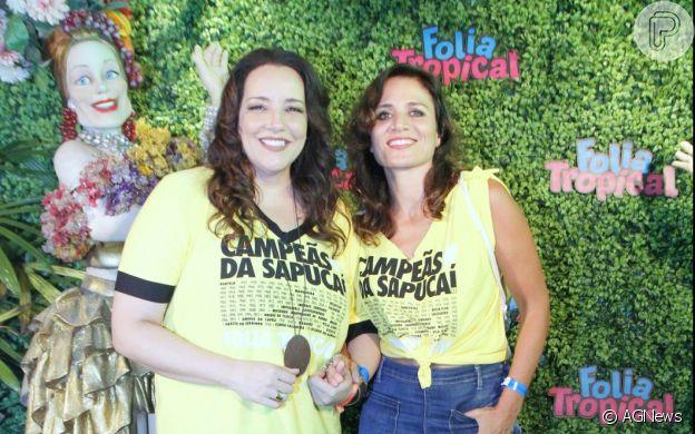 Ana Carolina e a namorada, Chiara