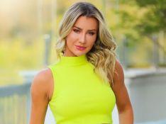 Ana Paula Siebert usa top neon com amarração na cintura: 'Cor da moda'. Aos detalhes!