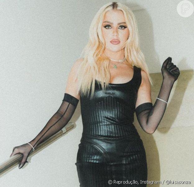 Luísa Sonza investiu em vestido de grife francesa para participar do 'Super Dança dos Famosos'