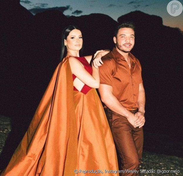 Juliette e Wesley Safadão cantaram o clássico de Alceu Valença, 'Anunciação', para o 'Criança Esperança'