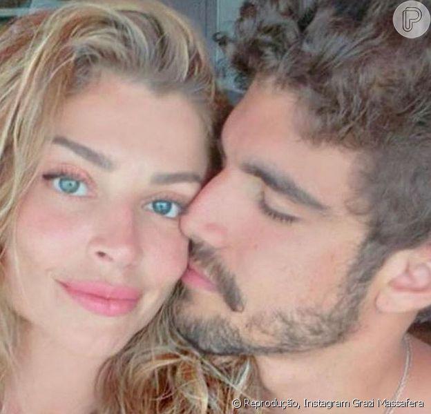 O fim do namoro de Caio Castro e Grazi Massafera agitou a web
