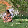Giovanna Ewbank contou sua experiência como mãe
