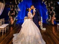 Vestido de noiva, decoração e mais: Viviane Araújo mostra todos os detalhes do casamento