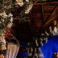 Viviane Araújo e Guilherme Militão escolheram local com muita natureza para o casamento