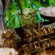 Detalhes da mesa de doces do casamento de Viviane Araújo e Guilherme Militão