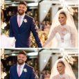 Fotos do casamento de Viviane Araújo e Guilherme Militão encantaram fãs