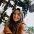 Patrícia Poeta citou com bom humor que a irmã Paloma Poeta trabalha na Record TV: ' Nesses últimos anos, brincava sempre com ela: 'fala, mana que trabalha na concorrência!''