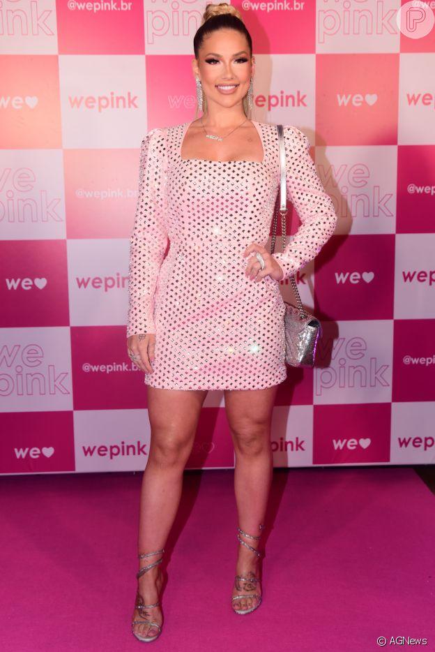 Virgínia Fonseca usou vestido de R$ 100 mil e sandália de R$ 17 mil em lançamento de marca