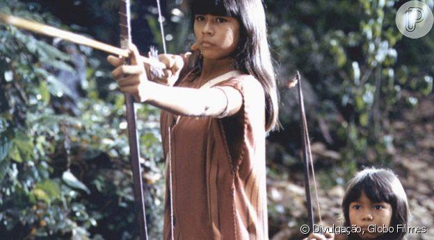 Eunice Baía no filme 'Tainá 2 - A Aventura Continua'
