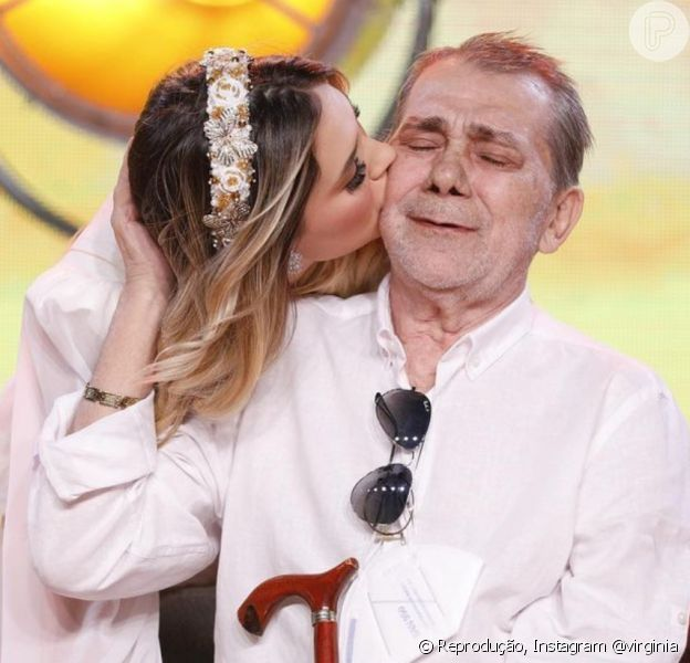 Pai de Virgínia Fonseca morreu aos 72 anos