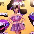 Bianca Andrade escolheu vestido lilás da Maya Bozzato Brand