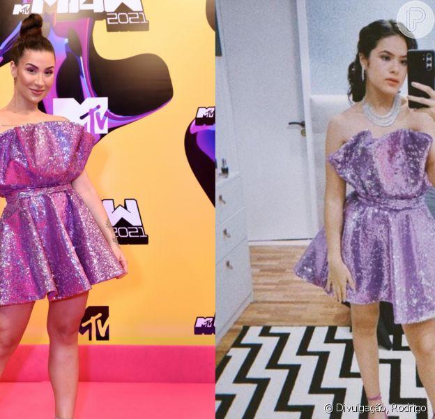 Bianca Andrade usa vestido já escolhido por Maisa e Galisteu para premiação