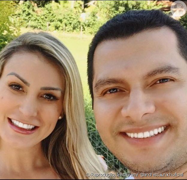 Andressa Urach anuncia separação de Thiago Lopes