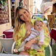 Virgínia Fonseca levou a filha, Maria Alice, na viagem para Portugal