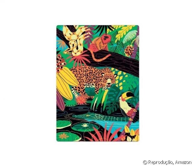 Quebra Cabeça 500 peças Postais do Brasil Natureza, Toyster