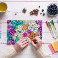 Livro para colorir acalma, ajuda a relaxar e estimula a criatividade. Com certeza você vai amar essa atividade!